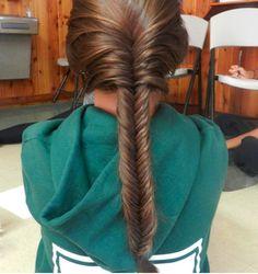 i absolutley adore the fishtale braid!