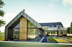 Please check out this example contemporary dwelling in Kilkeel Northern Ireland. Approx 3800 sqft seafront property that was planned as a Change of House Type