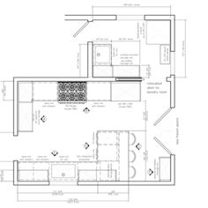 Kitchen Remodel Design Plan