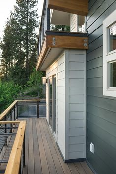 Blog Cabin's Master Suite Deck