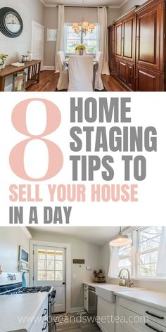 This girl has some really great home staging tips! Definitely keeping this for when we get ready to sell our house.
