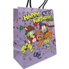 Garfield Vintage Large Gift Bag (1ct)