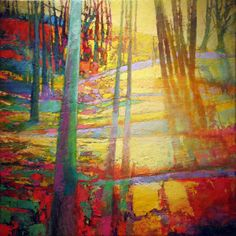 MARK GOULD ART all my colours!