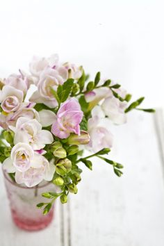 freesias.....one of my favorites scents