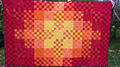 16-patch, colour therapy quilt for my friend :)