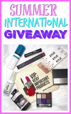 Enter the Summer International Giveaway from Makeup Goals, Makeup Inspo, Winning Time, Student Life, Cute Crafts, Diy Clothes, Projects To Try, Eyeshadow, Summer