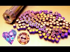 "♥ Полимерная глина - ""ШПРИЦЕВАЯ"" техника / polymer clay extruder techniques - YouTube"