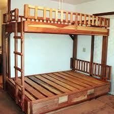 full over queen bunk bed