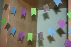 Buzz Lightyear Toy Story Paper Garland by SimplyScissors on Etsy, $10.00