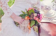 small colorful bouquet