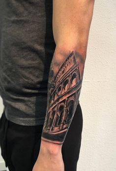 The Colosseum of Rome Tattoo