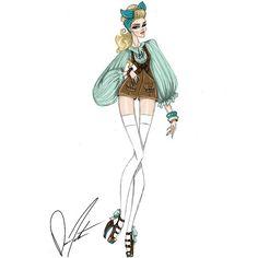 "558 Me gusta, 11 comentarios - Daren J (@darenj22) en Instagram: ""Disney fashion frenzy, Cinderella, Sing Sweet Nightingale by Daren J #disneyscinderella #cinderella…"""