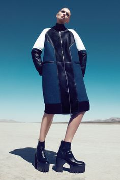 Fall Test Drive - Lily Donaldson Fall 2013 Fashion Shoot - Harper's BAZAAR