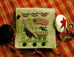 US patriotic cross stitch