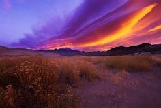 Sunrise, Sangre de Cristo Mountains. John B. Crane.