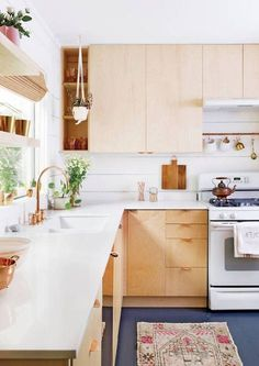 simple, lovely kitchen