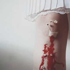 photography blood sad hurt anxiety body hand skin cut floral scars pure melancholy pale skin