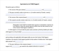 Child Support Payment  Do You Need A Letter On Child Support