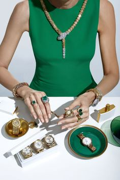 Now serving the season's most opulent watches and fine jewelry.
