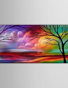 Paesaggi Pittura a olio Dipinta a mano Tela Wall Art Altri a... – EUR € 44.54
