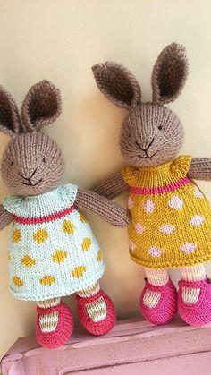 Ravelry: Elif0427's bunny girl in a dotty dress
