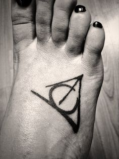 Harry Potter Elder Wand, Invisibility Cloak and the Sorcerers Stones- deathly hallows tattoo