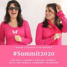 Free to join thousands of businesswomen in a virtual summit