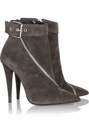Giuseppe Zanotti Ester buckled suede ankle boots