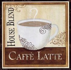 Coffee and Cream I by Veronique Charron art print