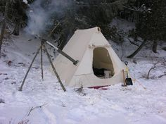 Winter Camping Tents | View topic - Food Thoughts for Winter Camping?