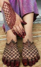 Modern Henna Mehndi Designs For Legs - Indian Fashion Ideas Henna Hand Designs, Dulhan Mehndi Designs, Mehendi, Mehndi Designs Finger, Latest Bridal Mehndi Designs, Legs Mehndi Design, Modern Mehndi Designs, Mehndi Designs For Girls, Mehndi Design Photos