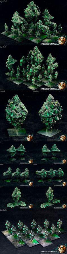 Firestorm Armada Relthoza Apex Dreadnought fleet in Borg color scheme - www.ilnanonefasto.it