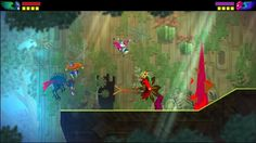 Guacamelee! (DrinkBox Studios) http://www.gamasutra.com/view/feature/200658/postmortem_drinkbox_studios_.php