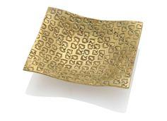* COEURS vide-poches c 1945 gilt-bronze - Line VAUTRIN