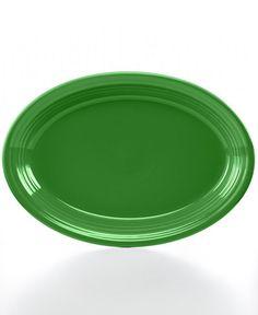 """Fiesta 13"""" Oval Platter - Shamrock"""
