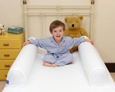 Dream Tubes are the ultimate solution to overcome the issue of young children falling out of beds, and aids the often difficult transition from a cot to a bed. It is a revolutionary, high quality and easy to use bed guard that provides a safe and secure night's sleep for a child. http://blossomforchildren.co.uk/furniture/302-dream-tube.html