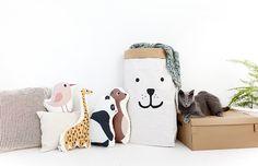 Arminho, Beautiful Handmade Products from Portugal - Petit & Small Baby Decor, Nursery Decor, Animal Cushions, Kids Bedroom Designs, Fashion Room, Kid Spaces, Kidsroom, Creative Design, Baby Kids