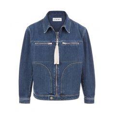 Loewe Menswear - STONEWASHED DENIM JACKET Indigo