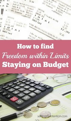 Lots of people don't like the word budget because it makes them feel deprived. Our family is budgeting 2016 and finding freedom within the limits that our budget gives us. Here is how we are experiencing freedom within the limits.