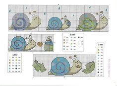 Gráficos de Ponto Cruz e Croché: Abecedários