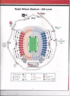 Bills Stadium Diagram - Online Schematic Diagram •