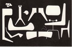 George Nelson, Irving Harper, chart of furniture forms 1949