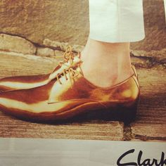 Golden Clarks Shoes Clarks, Leather Shoes, Oxford Shoes, Wedges, My Style, Boots, Women, Fashion, Leather Dress Shoes