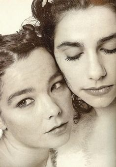 Bjork and PJ Harvey.   Junior high nostalgia.