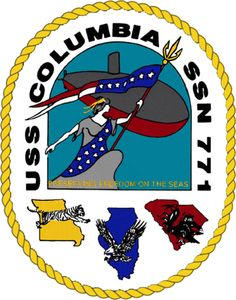 Seal of USS Columbia (SSN-771)