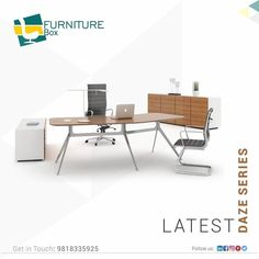 With confidence in its strength, cater to all your office furniture needs with Furniture Box. Learn more about our incredibly durable furniture's at the link below!in ☎ Call: 9818335925 Furniture Box, Office Furniture, Office Desk, Furniture Design, Luxury Office, Catering, Confidence, This Is Us, Strength