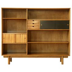 Lawrence Peabody Bookcase Cabinet | From a unique collection of antique and modern bookcases at http://www.1stdibs.com/furniture/storage-case-pieces/bookcases/