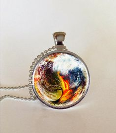 Divergent Series Glass Pendant by BigEBullets
