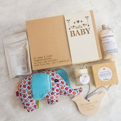 'Hello Baby' Personalised Gift Box - gifts for new parents