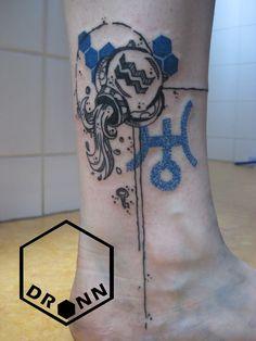 Aquarius Tattoo by DRONN